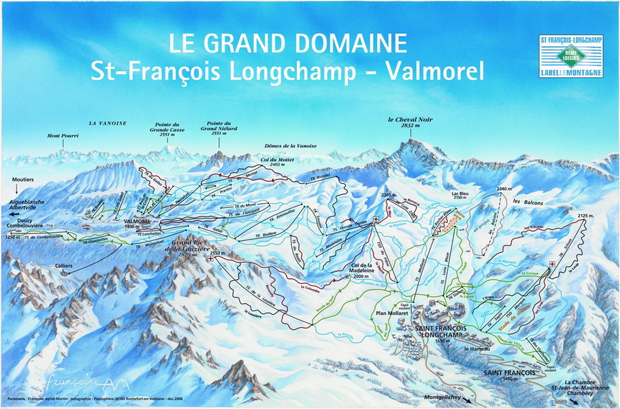 Grand Domaine-Valmorel/St.Francois Longchamp